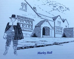 A man stood outside Marley Hall