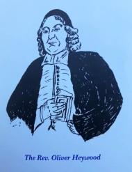Portrait of Rev Oliver Heywood
